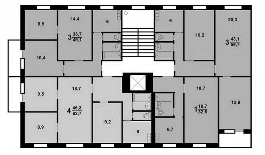 Объявление №27677210 - продажа трехкомнатной квартиры в